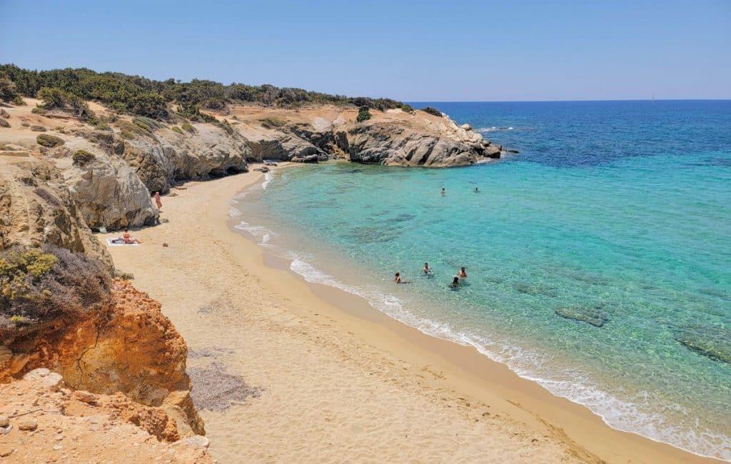 Aliko Beach Naxos Greece