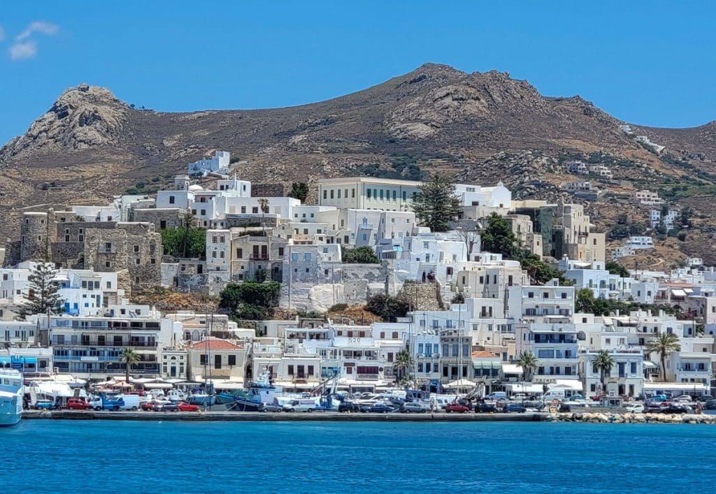 naxos town greek islands